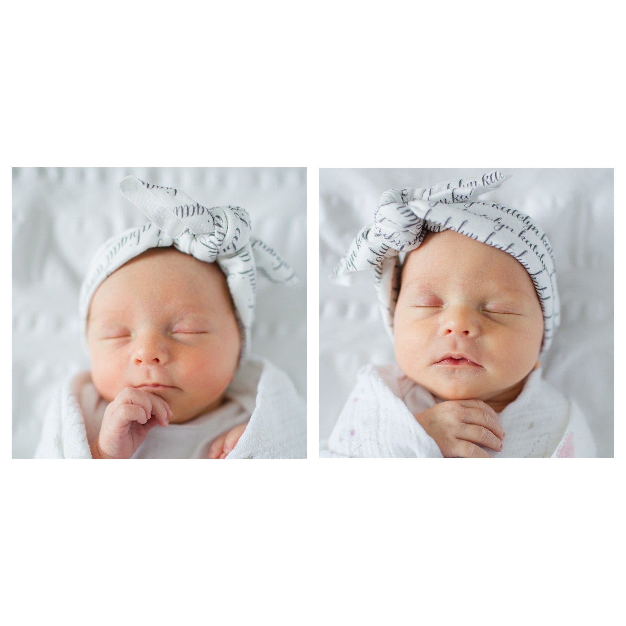 Personalized Headband - Newborn to Toddler Size