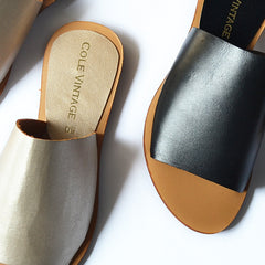 Lahore Slip On Sandals - Cole Vintage