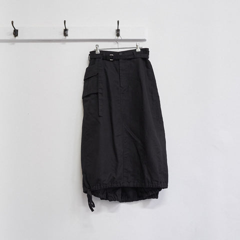 3D cargo pocket skirt