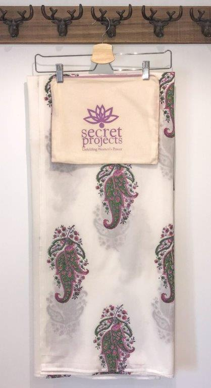 Heather Botanical Secret Scarf
