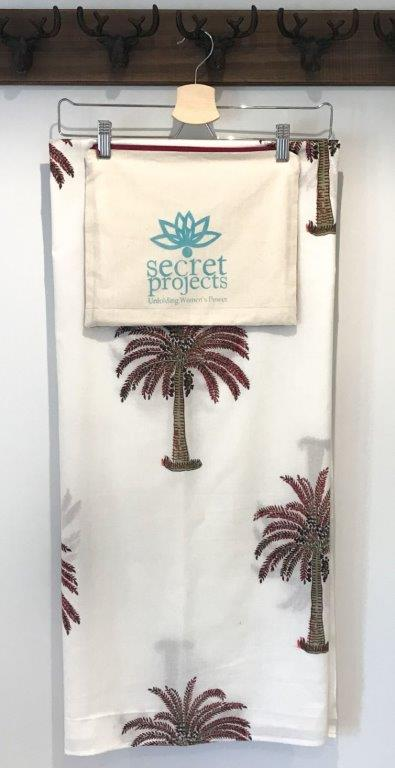 Cordyline Botanical Secret Scarf