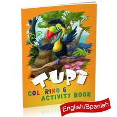 Tupi Finds His Tune Coloring and Activity book