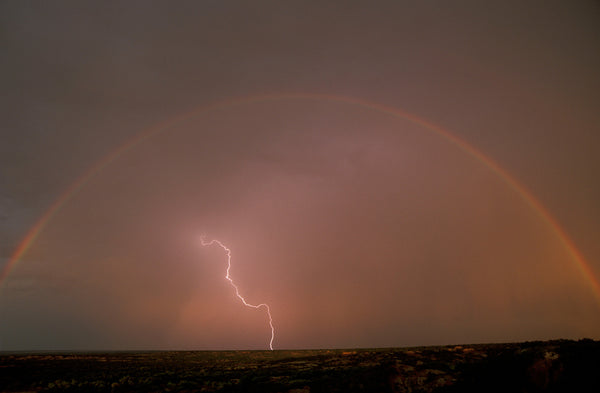 Favorite Forty: Rainbow and Lightning- Wyman Meinzer