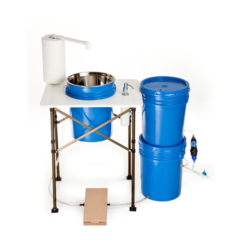 Deluxe Filtration Camp Sink