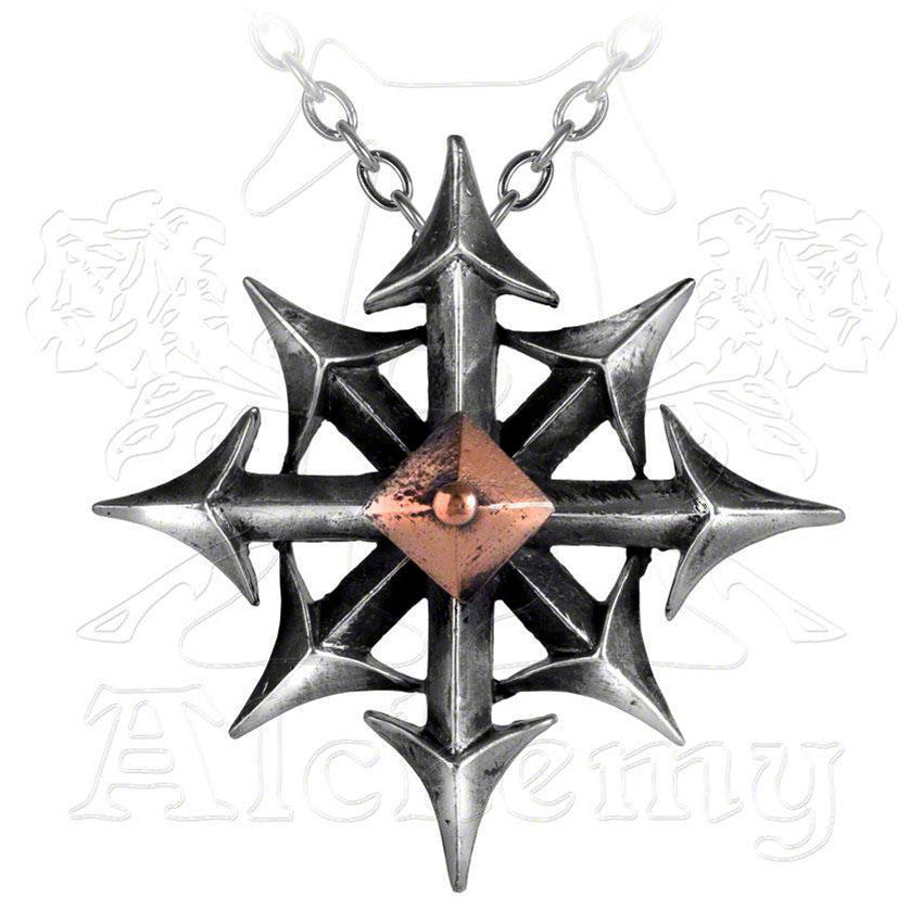 Alchemy Metal-Wear CHAOSTAR Chaos Compass Star Pendant - Domestic Platypus