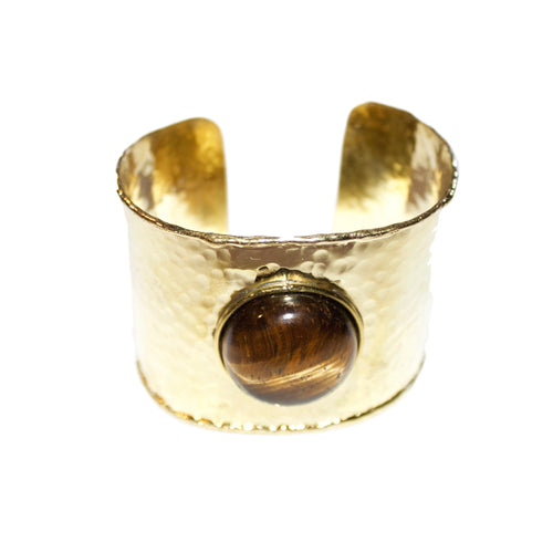 'Veronica' (Tiger Eye) Cuff