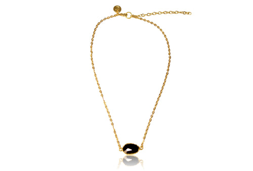 'Teri' (Black Onyx) Necklace