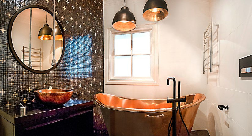 Home Beautiful Magazine July - The Copper Sinks Company - We Are In The Press