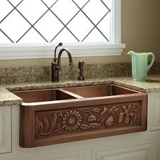 New Double Copper Farmhouse Sink - Just Arrived