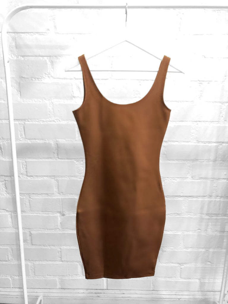 Skye Bodycon dress - Latte