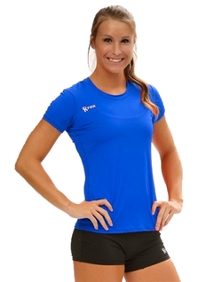 Rox Volleyball Voltaic Short Sleeve Jersey | 1260 | Royal,Women's Jerseys - Rox Volleyball