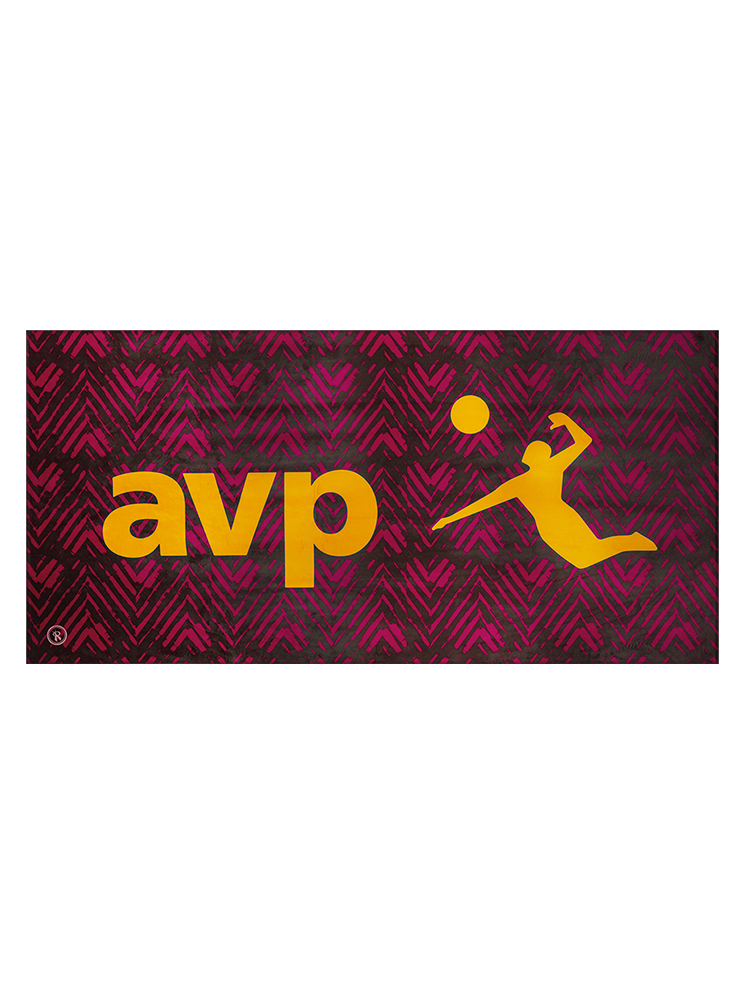 2019 AVP/RVB Event Beach Towel,AVP Items - Rox Volleyball