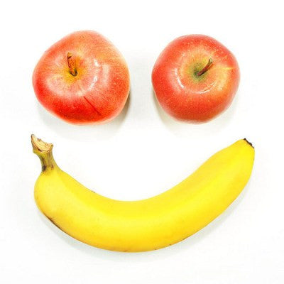 Eat a Banana &/or an Apple - Day 5 - Healthy Eating Challenge