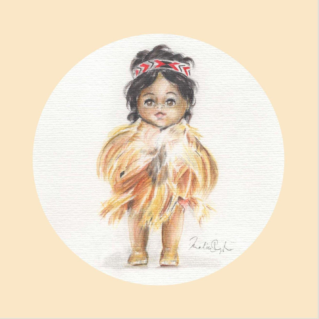 Greeting Card Six Pack - Maori Dolls