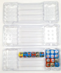 Zen Bins: Destiny - All Dice Storage 3-Pack (Clear)
