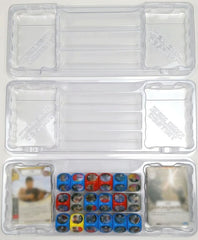 Zen Bins: Destiny - Card/Dice Storage 3-Pack (Clear)