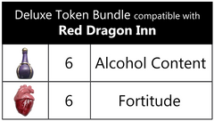 Deluxe Token Bundle compatible with The Red Dragon Inn™