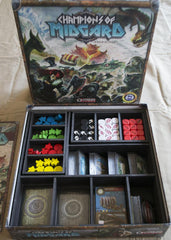 Champions of Midgard Foamcore Insert (pre-assembled) - Top Shelf Gamer - 1