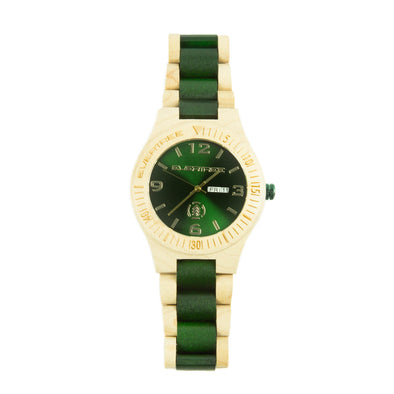Mallard Green/Natural Maple EverTree Watch