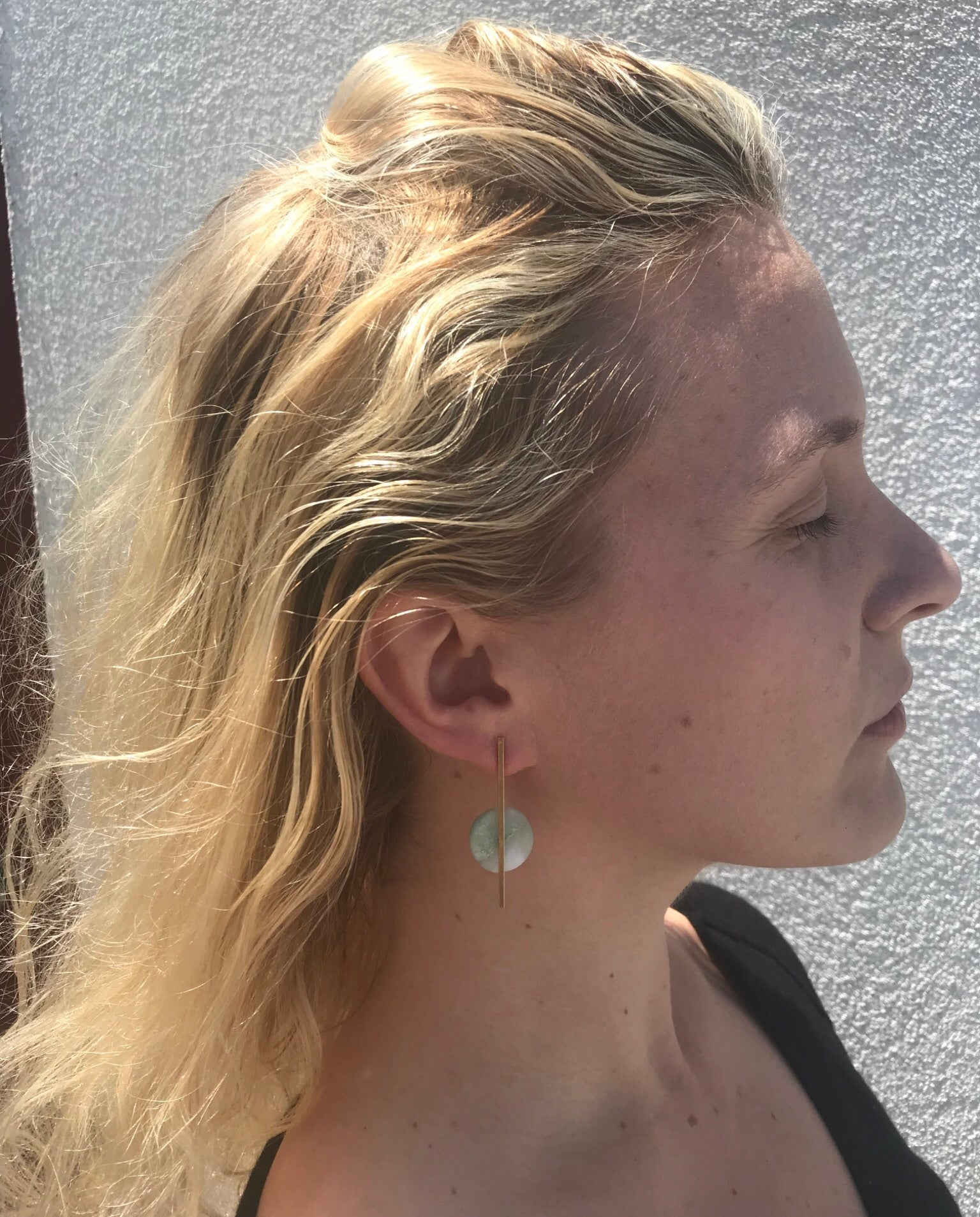 Opal skinny pop earrings