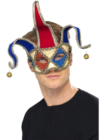 Masquerade Musical Jester Mask