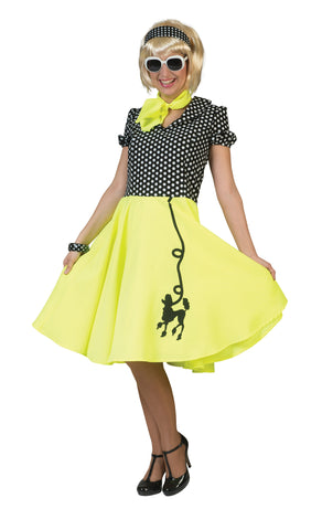 50's Poodle Dress Adult