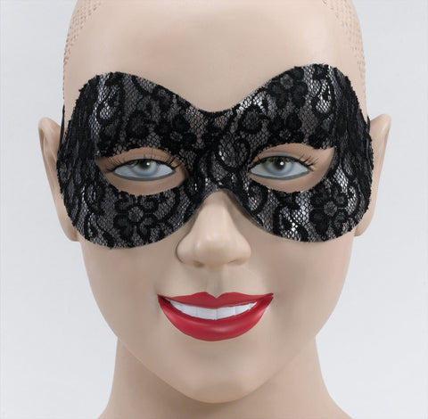 Black Lace Domino mask