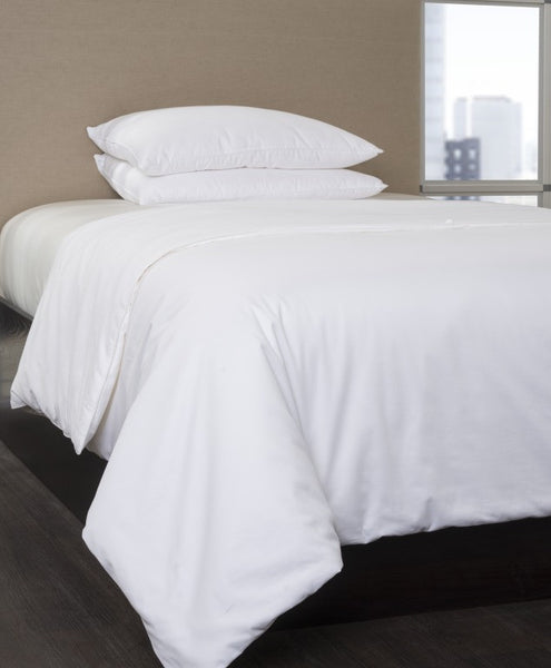 Silk-Filled Comforter with Cotton Cover - Mari Ann