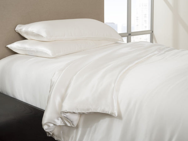 Silk-Filled Comforter with Silk Cover - Mari Ann