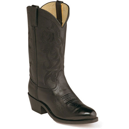 Durango Black Dress Leather Western Boots