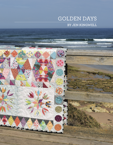 Golden Days Quilt Pattern by Jen Kingwell Designs