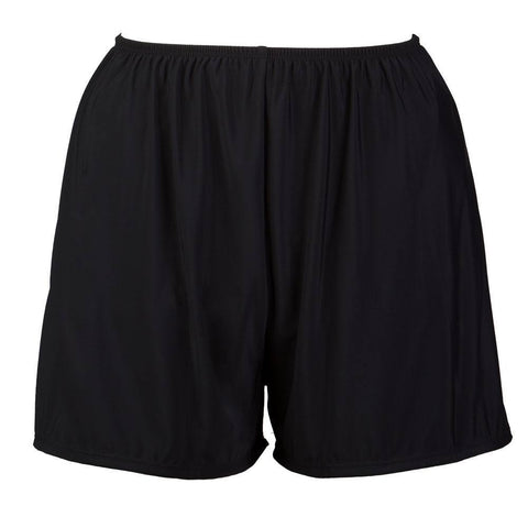 Plus Size Swim Shorts with Built in Panty - Available in 5 COLORS