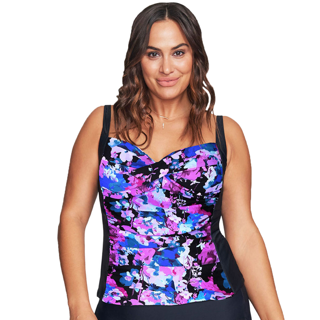 Mazu Women's Swimsuit Top - Plus Sizes 18 - 24 -Le Jardin