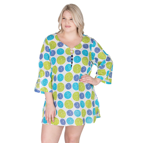 Limeade Plus Size Cover-Up From Peppermint Bay