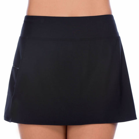 Skort Swim Bottom with Boy Leg Short - Available in 2 COLORS