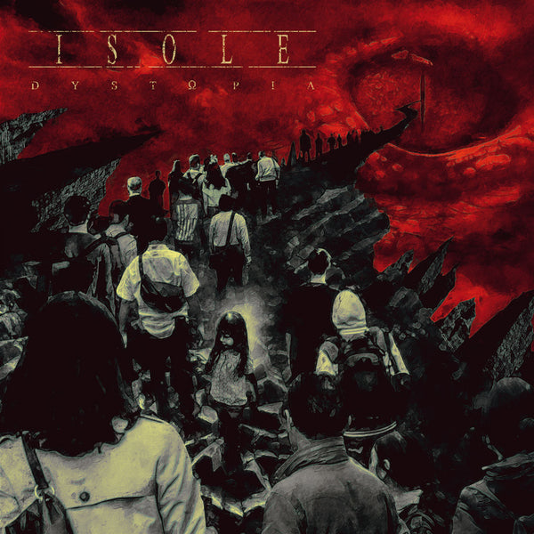 Isole - Dystopia LP (Ultra Clear vinyl) (Pre-order)
