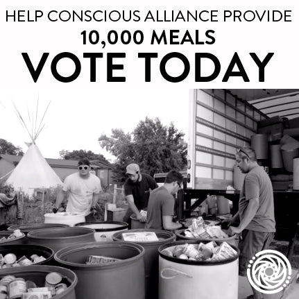VOTE TODAY to Provide 10,000 Meals!