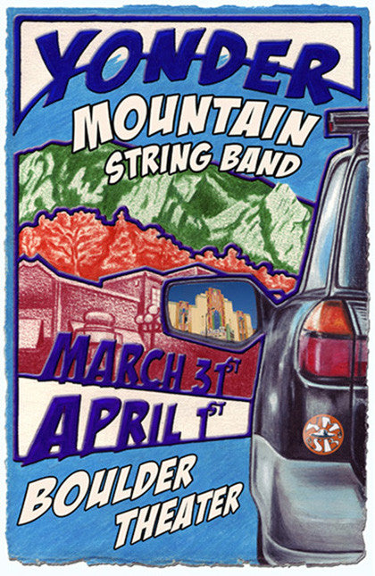 Yonder Mountain String Band Boulder - 2006 (3D)