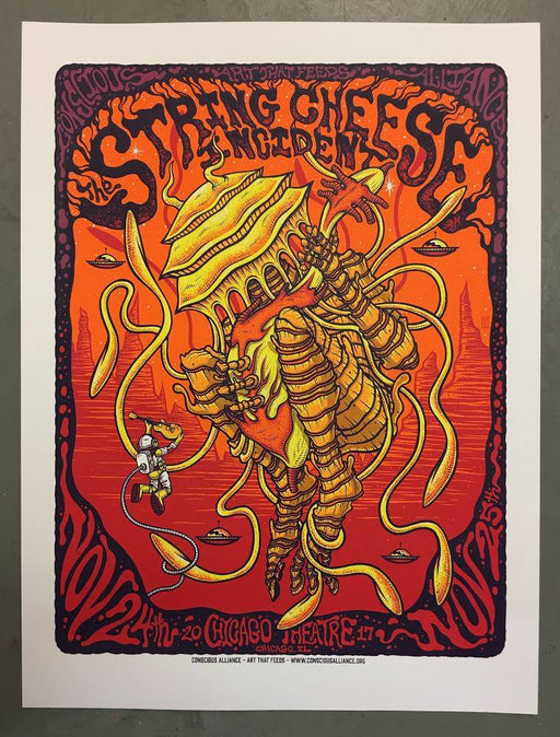 String Cheese Incident Chicago - 2017