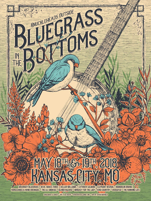 Bluegrass In The Bottoms - 2018