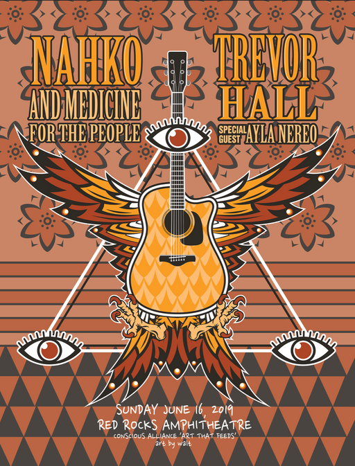 Nahko & Medicine For The People and Trevor Hall Morrison - 2019