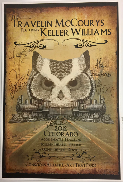 The Travelin' McCourys Ft. Keller Williams - 2012