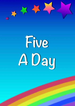 Easy primary school play Five a day