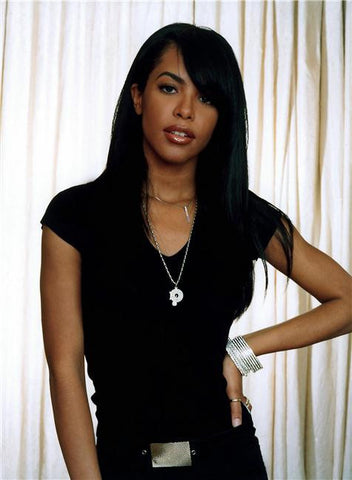 Aaliyah Silk Print Artists Poster 003