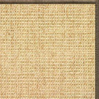 Sand Sisal Rug with Serged Border (Color 29024) - Free Shipping