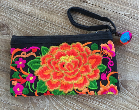 Flower Clutch Bags - A Fair Trade World