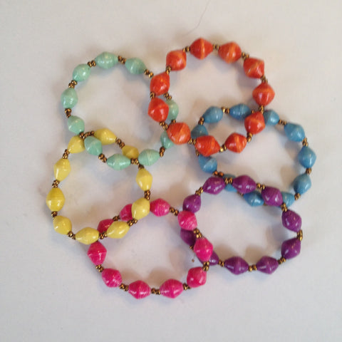 Child Bead Bangle Bracelet - A Fair Trade World