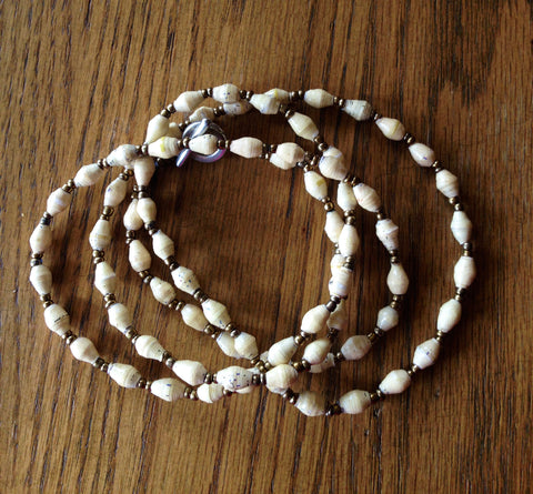 SueSue Bead Necklace - A Fair Trade World