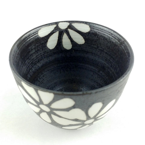 Arita porcelain teacup - Coal