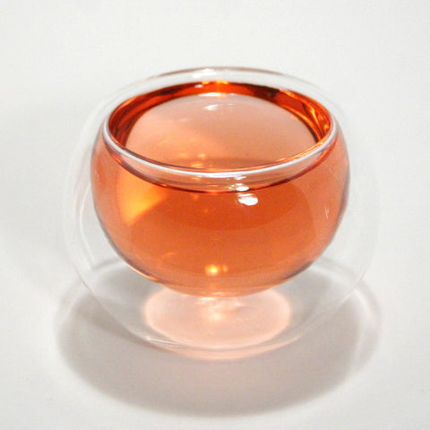 Double Wall Glass Teacup